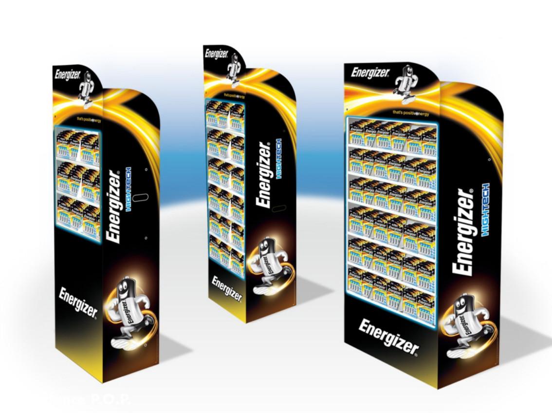 Range Display per Energizer